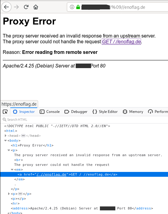 """Proof of Concept for """"Apache Httpd Limited cross-site scripting in mod_proxy error page (CVE-2019-10092)"""""""